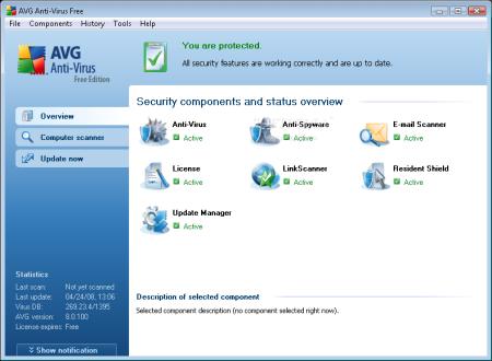 برنامج شهير في مكافحة فايروسات