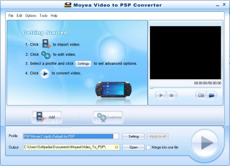 تحويل فيديوهات الى psp